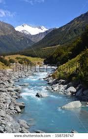 Fenced-mountain- stream